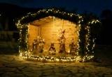 Στολίστηκε και φέτος το Μάνεσι Καλαβρύτων με την Χριστουγεννιάτικη φάτνη