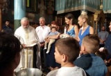 Η Μαρία Μαντά και ο Νίκος Πογιαντζής βάφτισαν τον δεύτερο γιο τους.