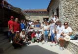 Προσκυνηματική πεζοπορία προς την Ι.Μ. Μακελλαριάς από τον Πολιτιστικό Σύλλογο Μανεσίου Καλαβρύτων